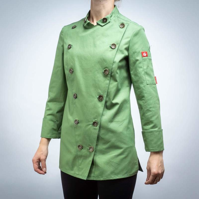 623GRASS - CHEF'S JACKET