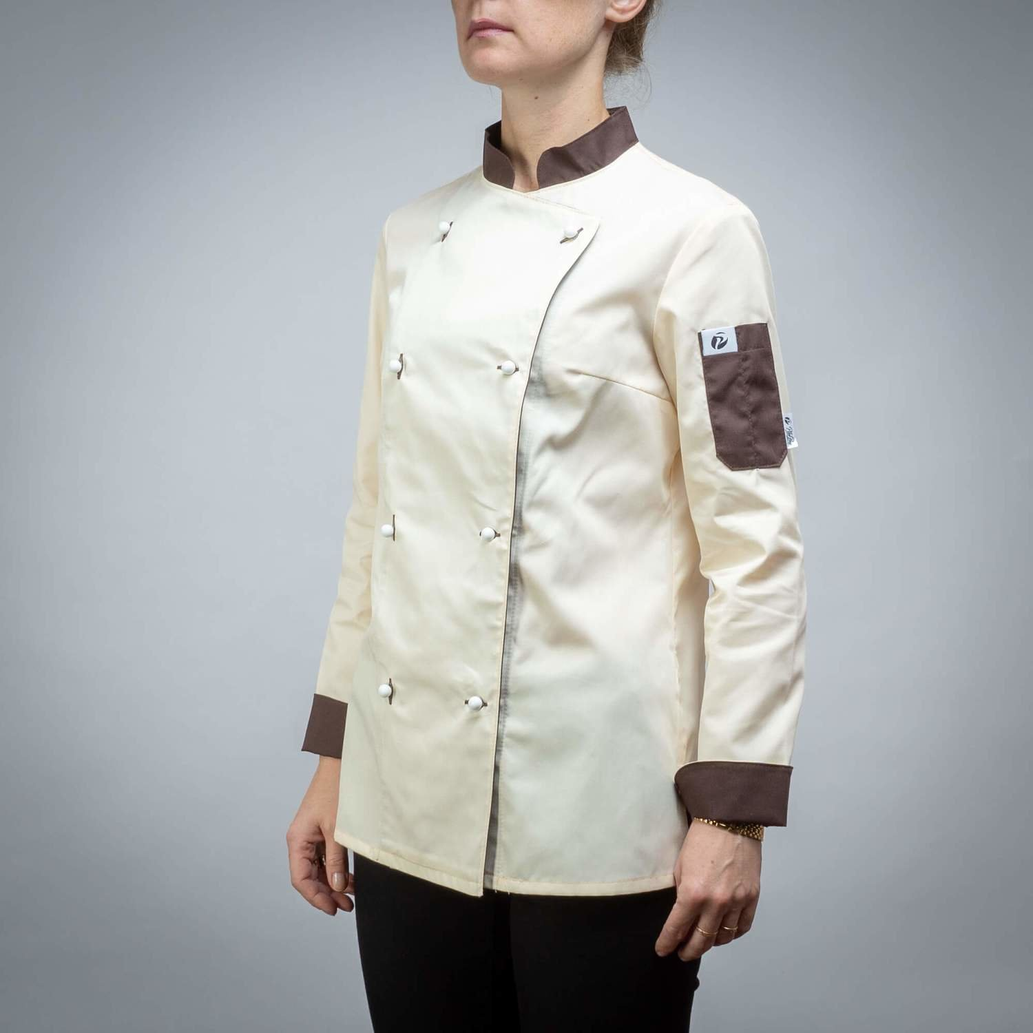 501CREAM3 - CHEF'S JACKET