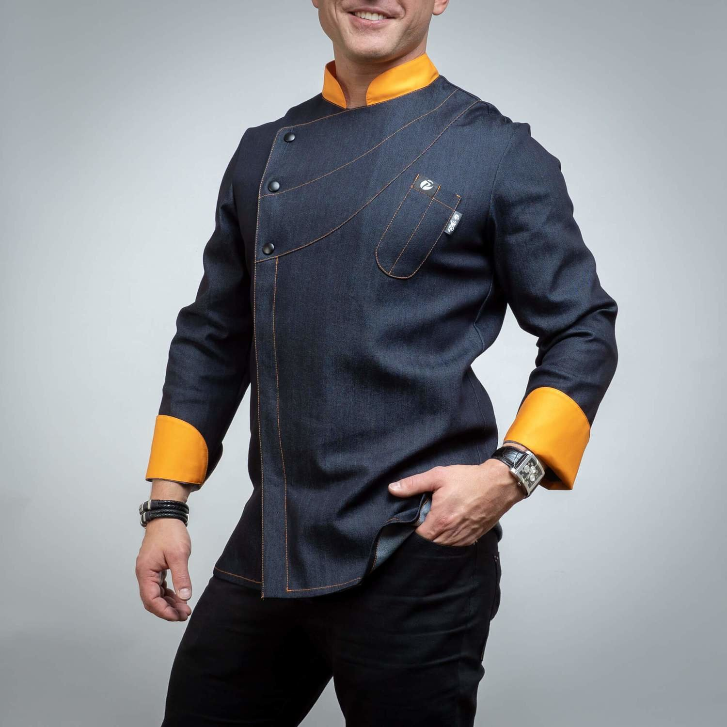 185JOR - CHEF'S JACKET