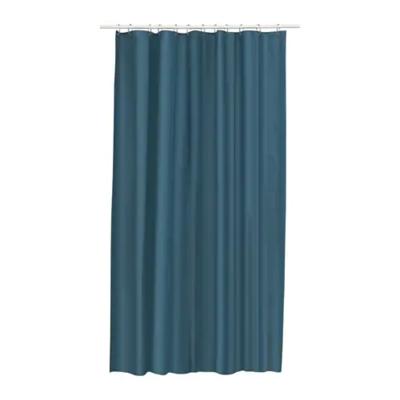 ЭГГЕГРУНД Штора для ванной, зелено-синий 180x200