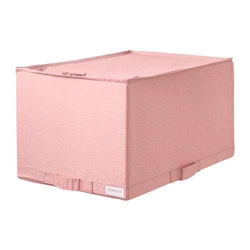 СТУК Ящик с отделениями, розовый      34x51x28 см