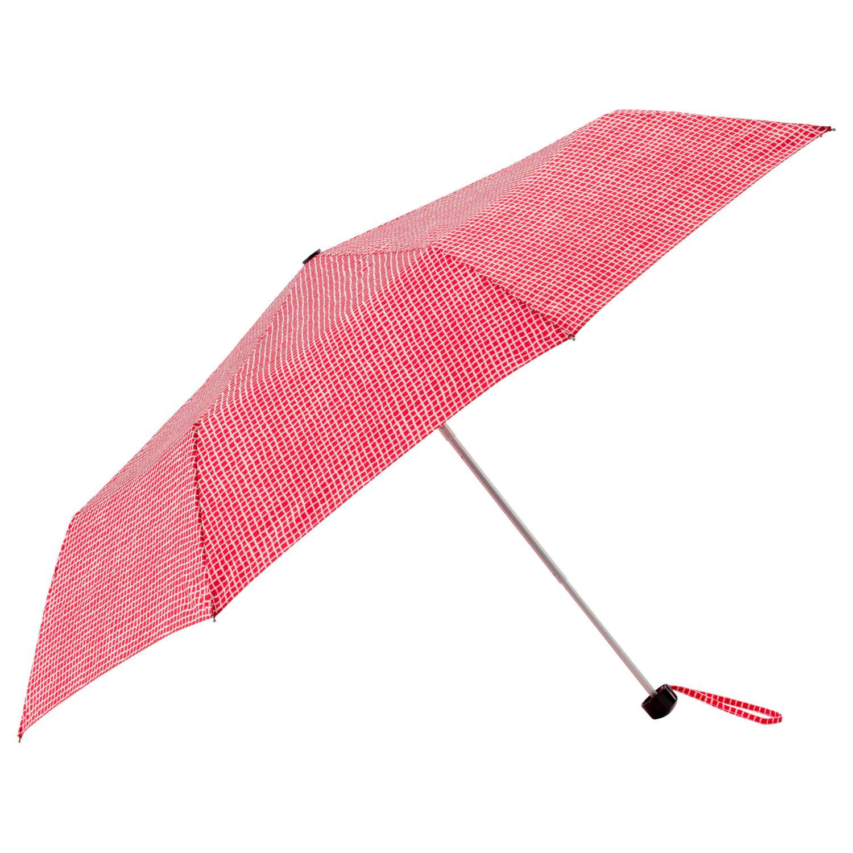 КНЭЛЛА Зонт, складной красный/белый