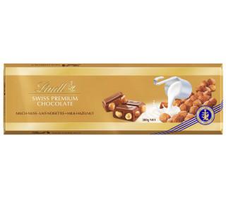 Шоколад Lindt Gold  с орехом, 300 г