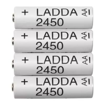 ЛАДДА Аккумуляторная батарейка, HR6 AA 1,2 В, 2450 мА·ч.