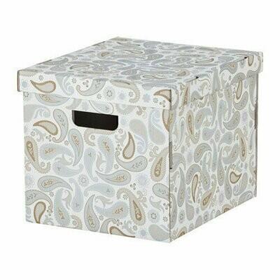СМЕКА Коробка с крышкой, 33x38x30 см