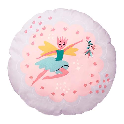 ЛАТТО Подушка, фея, светло-розовый сиреневый/41 см