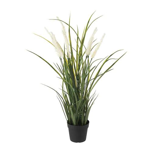 ФЕЙКА Искусственное растение в горшке, д/дома/улицы украшение, трава