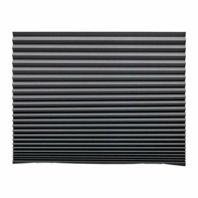 Жалюзи плиссе ШОТТИС, блокирующие свет, темно-серый, 100x190 см