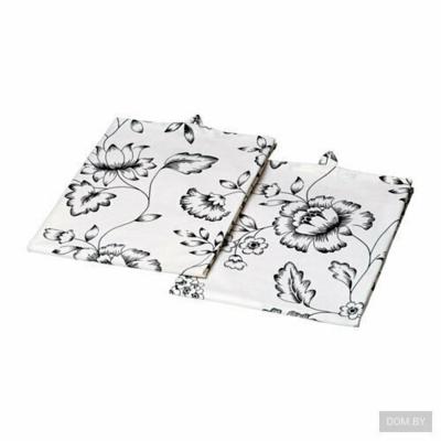 СКОГСВИВА Полотенце кухонное , белый/ 50x70 см