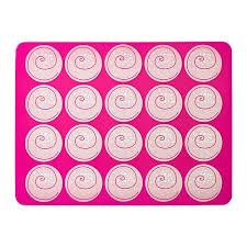 Лист для выпечки МОНСТРАД, розовый, 40x30 см