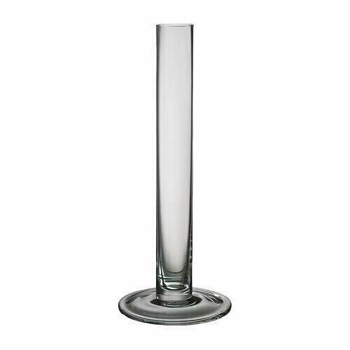 ТАЙТ Ваза, прозрачное стекло