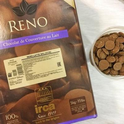 Шоколад молочный  Reno Latte Papua Classic 30% 5 кг, IRCA, ИТАЛИЯ