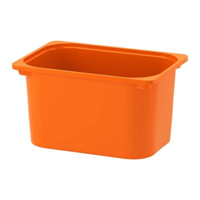 ТРУФАСТ Контейнер, оранжевый 42x30x23 (копия)