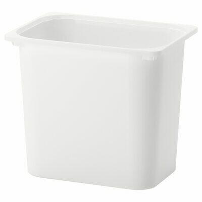 ТРУФАСТ Контейнер, белый. 42*30*36 см