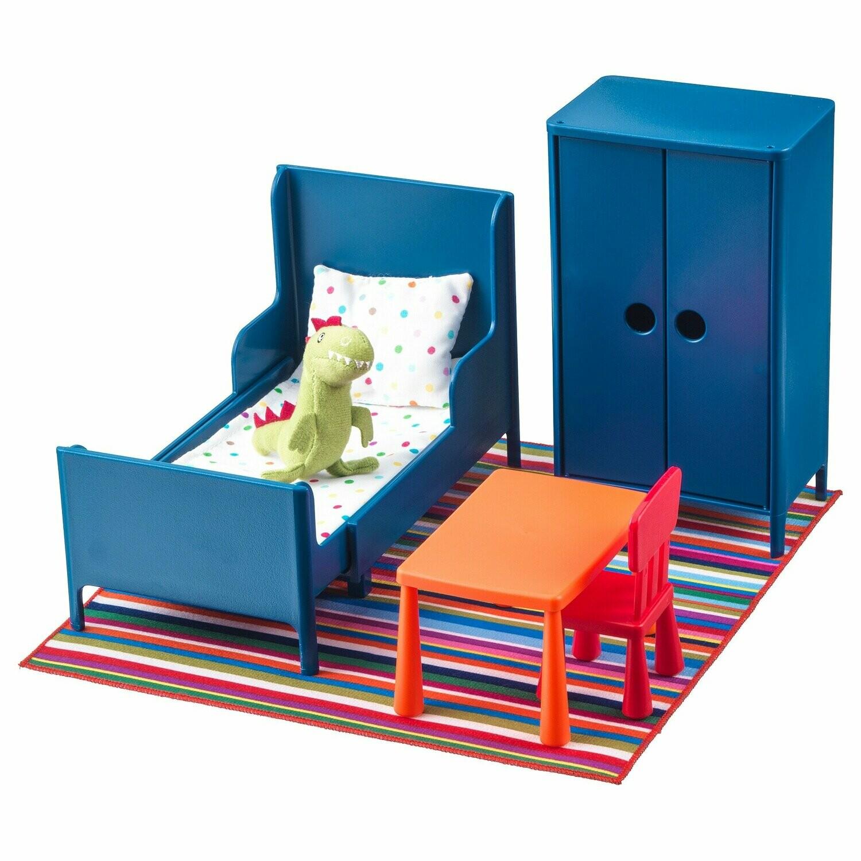 ХУСЕТ Кукольная мебель, спальня