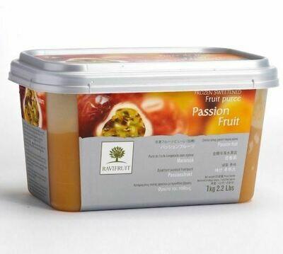 Пюре из маракуйи с/м 10% сахара 1 кг, Франция, Ravifruit