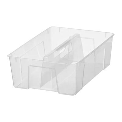 САМЛА Вставка в контейнер 11/22 л, прозрачный  37x25x12 см