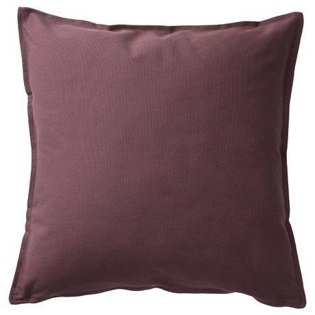 ГУРЛИ, чехол на подушку, тёмно-синий, 50x50 см