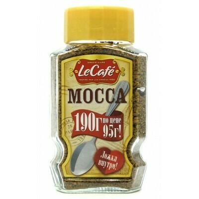 Кофе Le Cafe Mocca растворимый 190гр