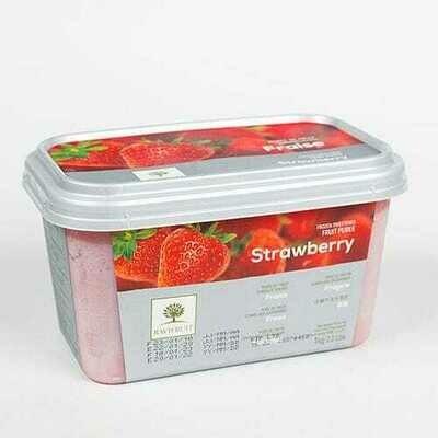 Пюре из клубники с/м 10% сахара 1 кг, Франция, Ravifruit