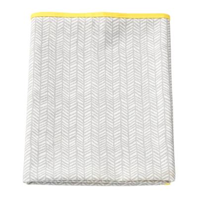 КЛЭММИГ Пеленальная подстилка, серый, желтый
