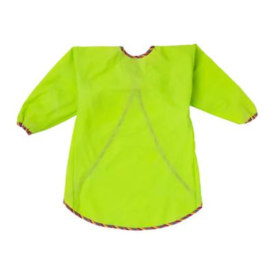 МОЛА Фартук с длинными рукавами, зеленый Длина:  60 см Ширина:  106 см