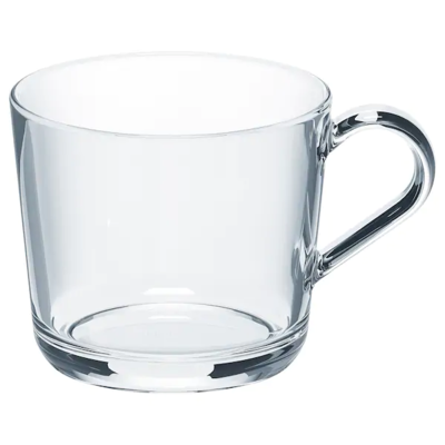 ИКЕА/365+ Кружка, прозрачное стекло 36 сл