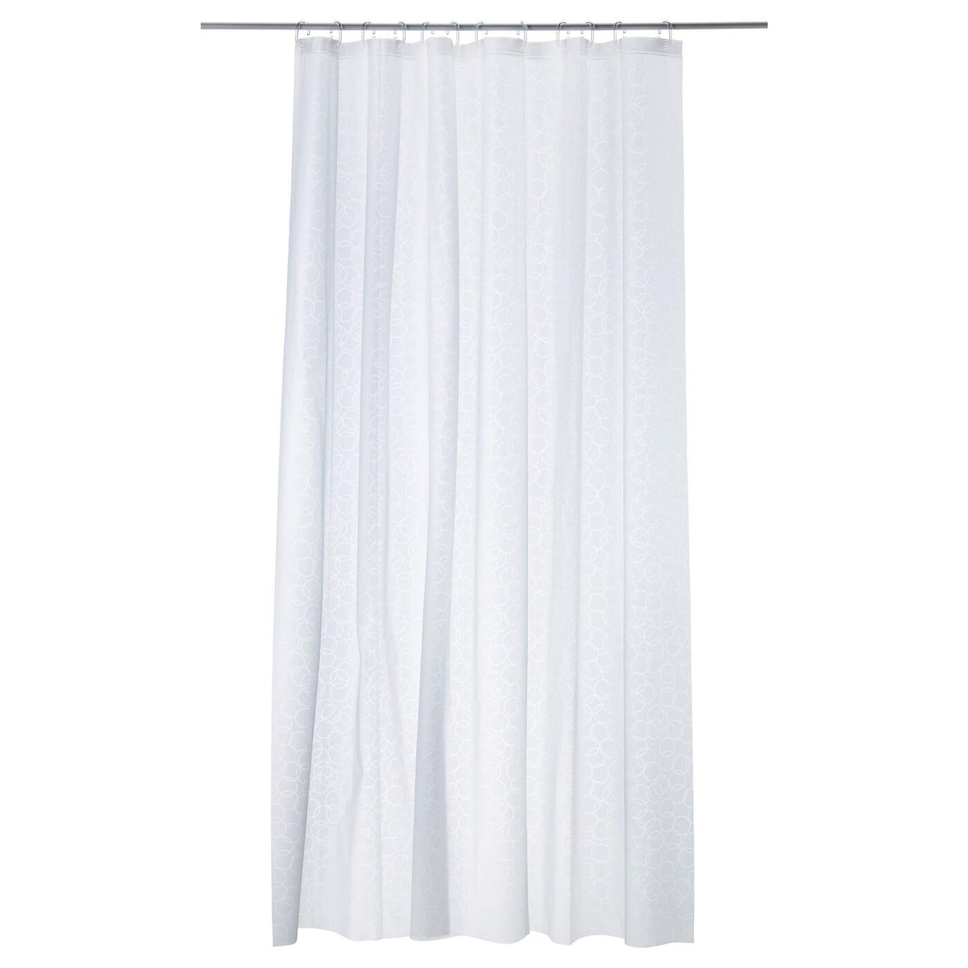 ИННАРЕН, штора для ванной, белый