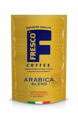 Кофе FRESCO Arabica Blend растворимый пакет 190г