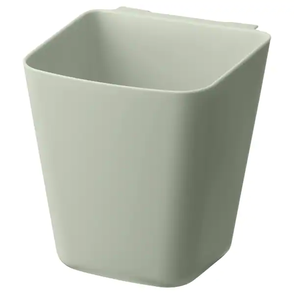 СУННЕРСТА, контейнер, салатовый, 12x11 см