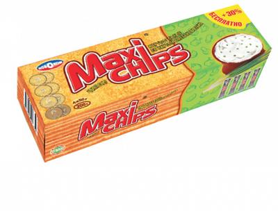 Чипсы картофельные Maxi-chips в ассортименте 200 грамм