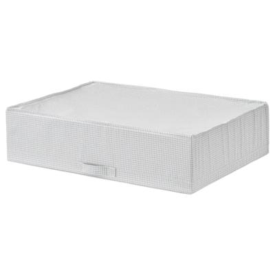 СТУК Сумка для хранения, белый/серый, 71x51x18 см
