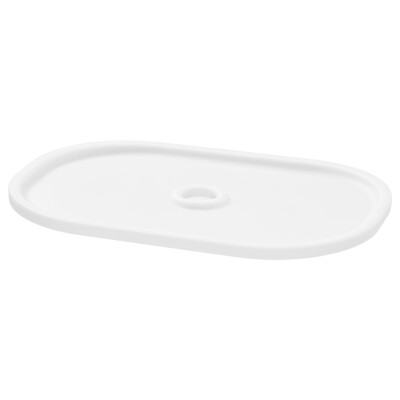 ТРУФАСТ Крышка, белый 20x28 см