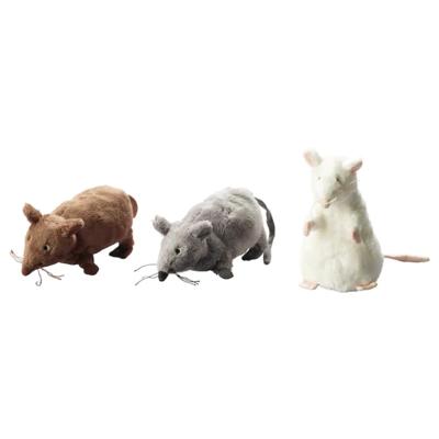 ГОСИГ МУС (мышь или крыса) Мягкая игрушка, разные цвета, 14 см