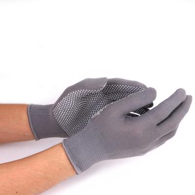 Нейлоновые перчатки с ПВХ точками