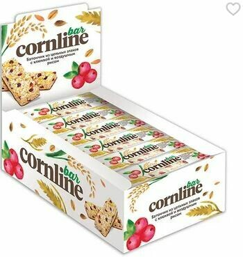 Батончик «Cornline» или «Nut N Go»