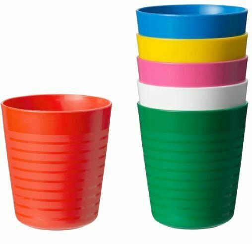 КАЛАС, стаканы, 6шт, радуга