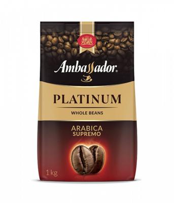 Кофе Ambassador Platinum зерно 1000г
