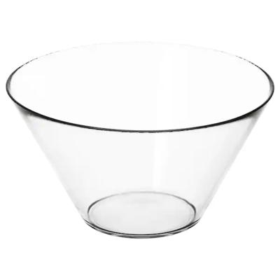 ТРЮГГ Сервировочная миска, прозрачное стекло, 28 см