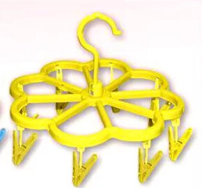 Вешалка с 8 прищепками «Цветок»