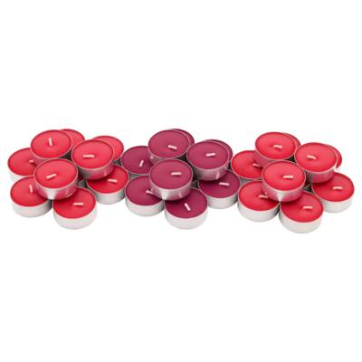СИНЛИГ Свеча греющая ароматическая, Красные садовые ягоды, красный