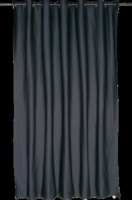 Штора на люверсах «Ритм» 200х260 см цвет серый