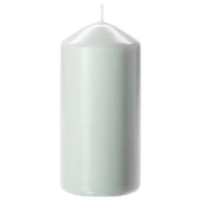 ДАГЛИГЕН Неароматическая свеча формовая, светло-зеленый, 14 см