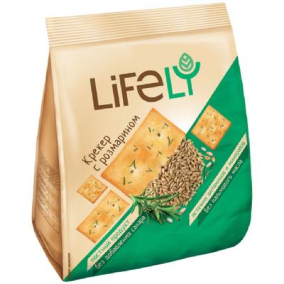 Крекер LIFE LY 180 гр. в ассортименте
