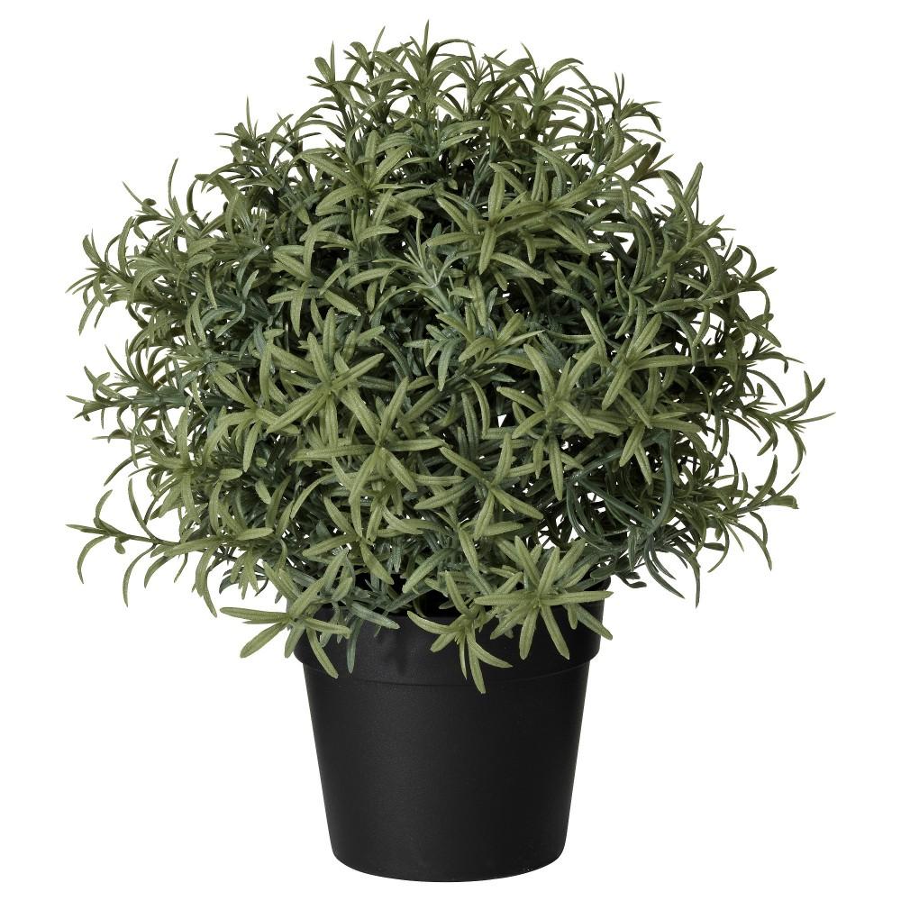 ФЕЙКА Искусственное растение в горшке, Розмарин, зеленый