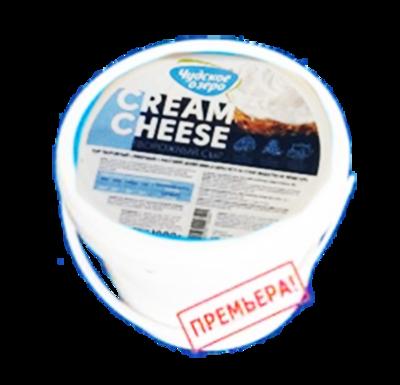 Сыр CREAM CHEESE творожный сливочный 60% 1 кг, Россия