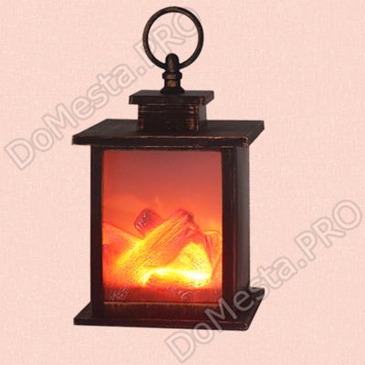Светодиодный камин с эффектом живого огня