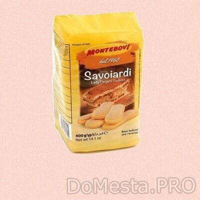 Савоярди Montebovi Печенье для тирамису  400гр (Италия)