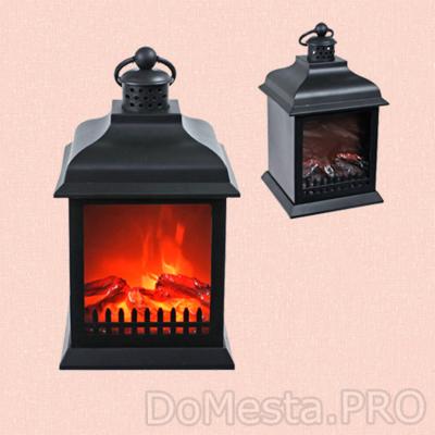 Электрический камин led fireplace lantern SP-23