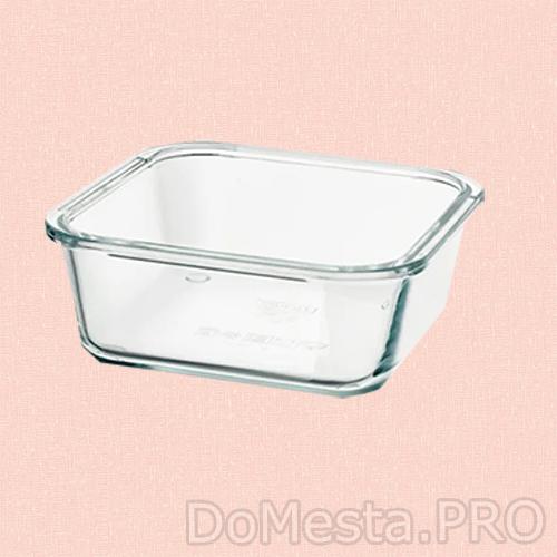 ИКЕА/365+ Контейнер для продуктов, четырехугольной формы, стекло, 600 мл